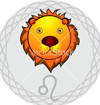 Free zodiac signs leo vector - Free vector #267321