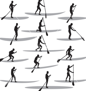 Free sup silhouettes vector - Free vector #267501