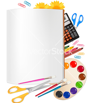 Free back to school set vector - Free vector #267521