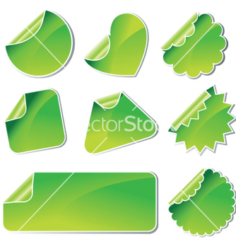 Free stickers vector - бесплатный vector #267561