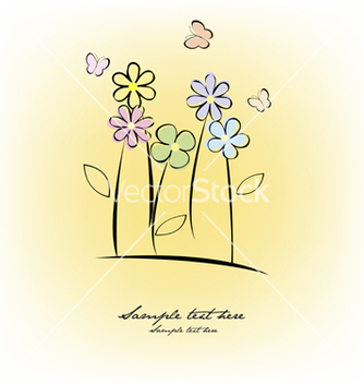 Free greeting card vector - vector gratuit #267751