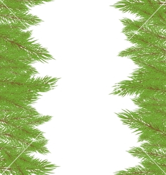 Free christmas fur tree vector - vector gratuit #267851