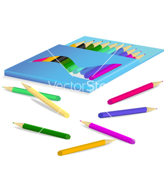 Free pencil box vector - Kostenloses vector #267911