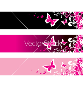 Free pink floral vector - Free vector #267921