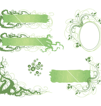 Free thorns and flowers vector - vector #267971 gratis