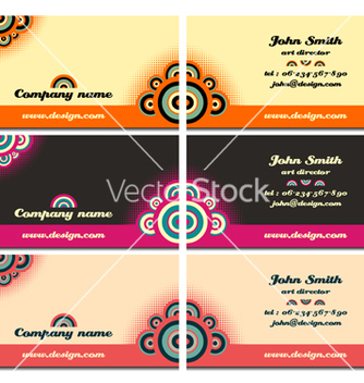 Free business cards vector - vector #267981 gratis