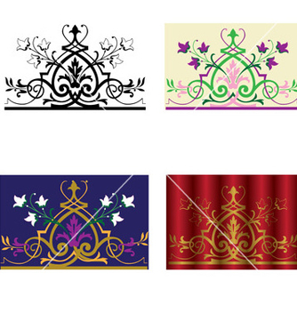 Free ornament vector - Free vector #268091