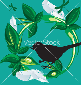 Free nature bird vector - бесплатный vector #268501