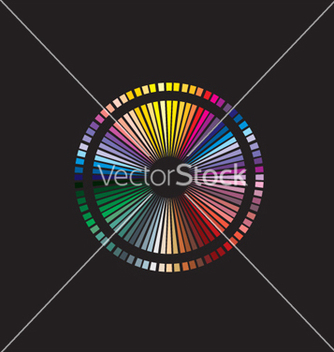 Free color spectrum vector - Kostenloses vector #268661