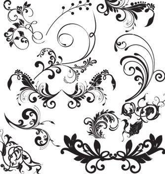 Free nature elements vector - Kostenloses vector #268671