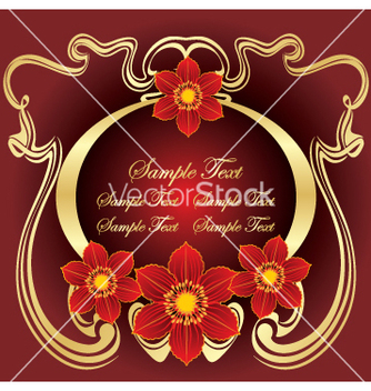 Free floral design vector - Free vector #269361
