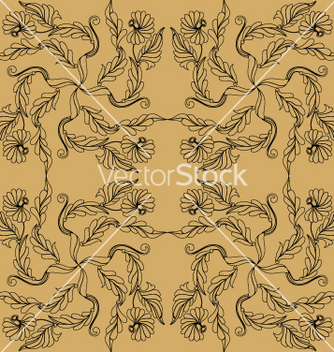 Free floral drawing vector - Free vector #269431