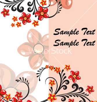 Free floral vector - Free vector #269511