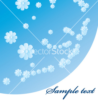 Free flower border vector - бесплатный vector #269521