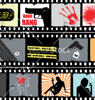 Free movie scene vector - бесплатный vector #269581