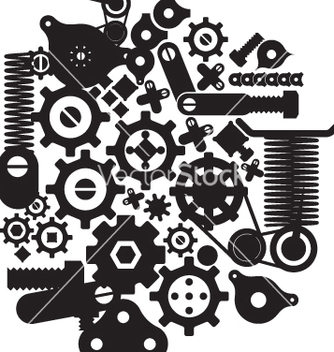 Free cogs and cranks vector - vector gratuit #269611