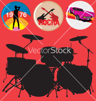 Free rock music vector - vector gratuit #269741