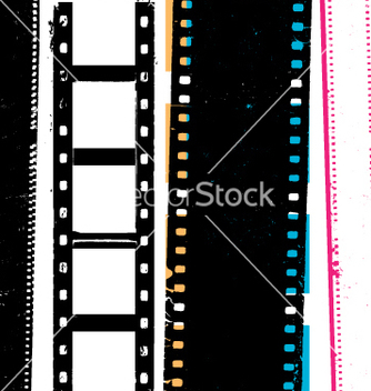 Free grunge film vector - Free vector #269781