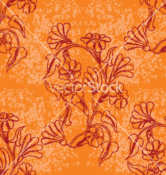 Free floral wallpaper vector - Free vector #269821