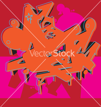 Free graffiti graphic vector - Free vector #270161