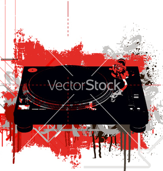 Free turntable vector - vector #270181 gratis