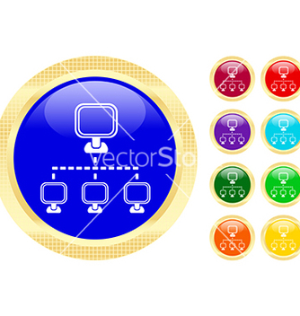 Free networking icon vector - vector #270191 gratis