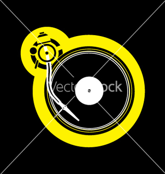 Free turntable vector - бесплатный vector #270311