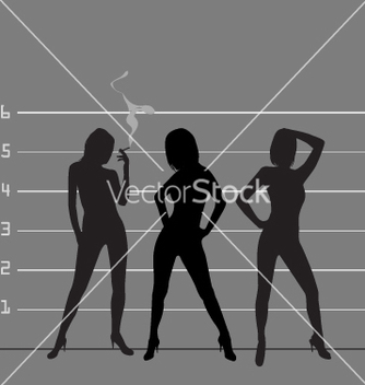 Free police line up vector - Free vector #270321