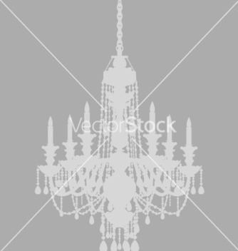 Free ghost chandelier vector - бесплатный vector #270411