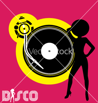 Free disco flyer vector - Free vector #270451