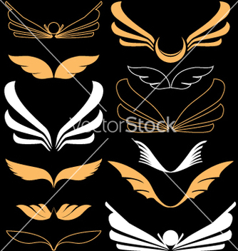 Free wings vector - Free vector #270511