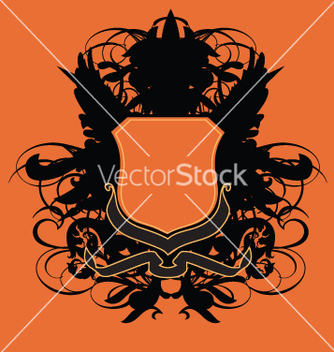 Free heraldry shield vector - бесплатный vector #270531