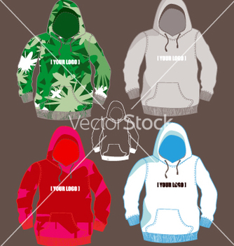 Free hoodies vector - бесплатный vector #270591