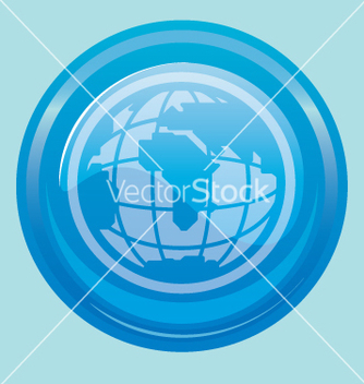 Free globe button vector - бесплатный vector #270651