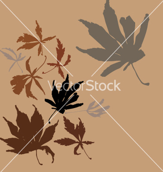 Free autumn leaves vector - бесплатный vector #270781
