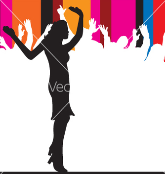 Free party people vector - Kostenloses vector #270871