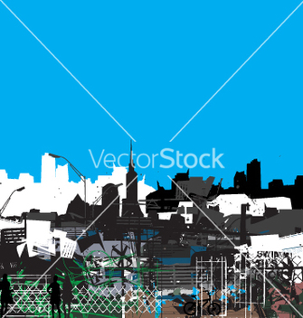 Free urban jungle vector - Free vector #270961