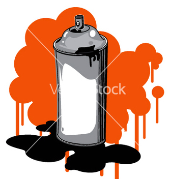 Free spray can vector - Free vector #271041