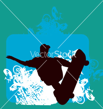 Free skater indy backside grab vector - Free vector #271071
