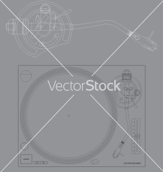 Free turntable vector - бесплатный vector #271411