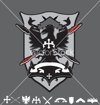 Free coat of arms vector - vector gratuit #271471