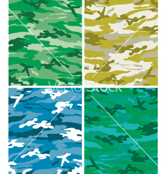Free camoflague patterns vector - vector #271511 gratis