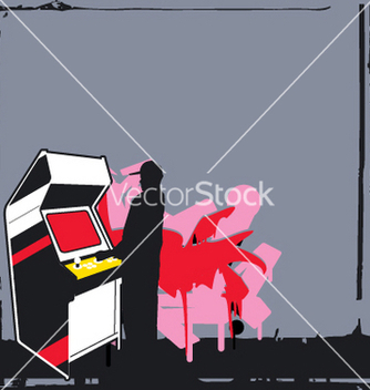 Free player one vector - Free vector #271541