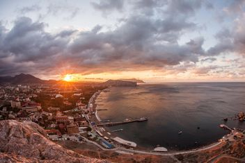 Sunset on Crimea seaside - бесплатный image #271771