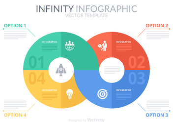 Free Infinity Infographic Vector Template - Kostenloses vector #272371