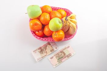 Fruit for 3 dollars, Russia, St. Petersburg - image gratuit #272561