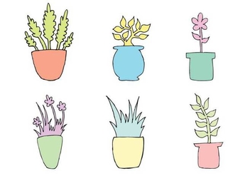 Free Planter Vector Series - бесплатный vector #272711