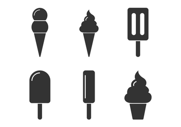 Snow Cone Icons - vector gratuit #272801