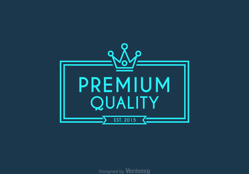 Free Vector Line Crown Logo - Kostenloses vector #274031