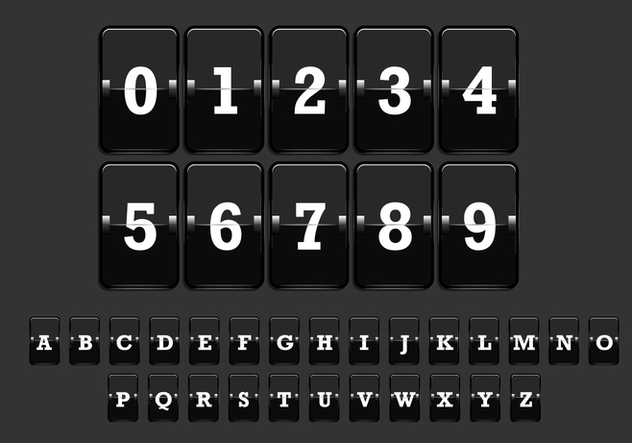 Number Counter Vector 2 - Free vector #274091